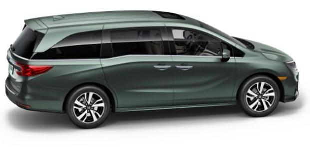 2019 Honda Odyssey Rear View
