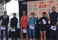 Ascona Locarno Run  Gionata campione Ticinese Rachele argento