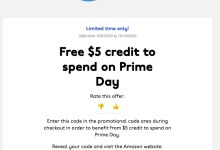 UNiDAYS | 免费赠送$5 Amazon抵用券(限edu邮箱、Prime会员)