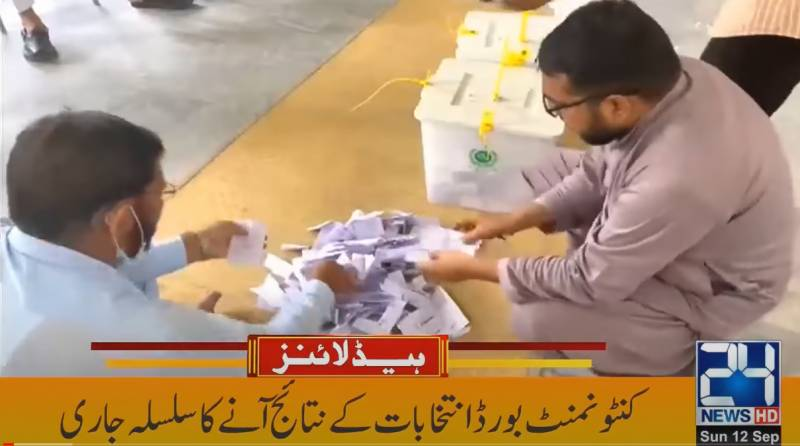 Cantonment Board Election 2021 Results from All Pakistan