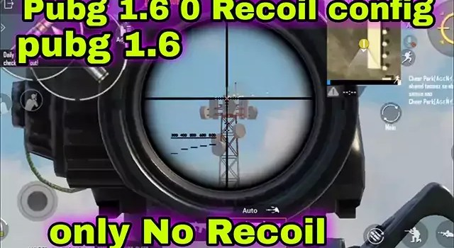 only no recoil config 1.6 pubg mobile only no recoil config GLOBAL+kr +BGMI