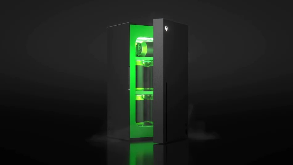 Xbox Mini Fridge, in the style of X series consoles, sells out immediately after launch
