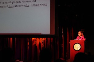 "Vanessa Kerry - ""Cultivating an Idea in Global Health: The Links between Health, Service & Diplomacy"""