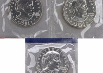 1981 Susan B Anthony 3-coin Set