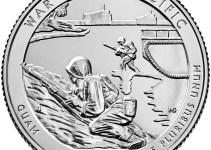 2019 War in the Pacific National Historical Park Quarter Reverse