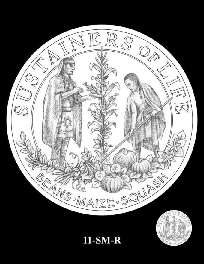 Mayflower Silver Coin Reverse