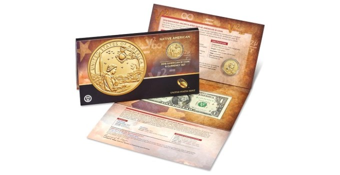 2019 Native American Coin & Dollar Set
