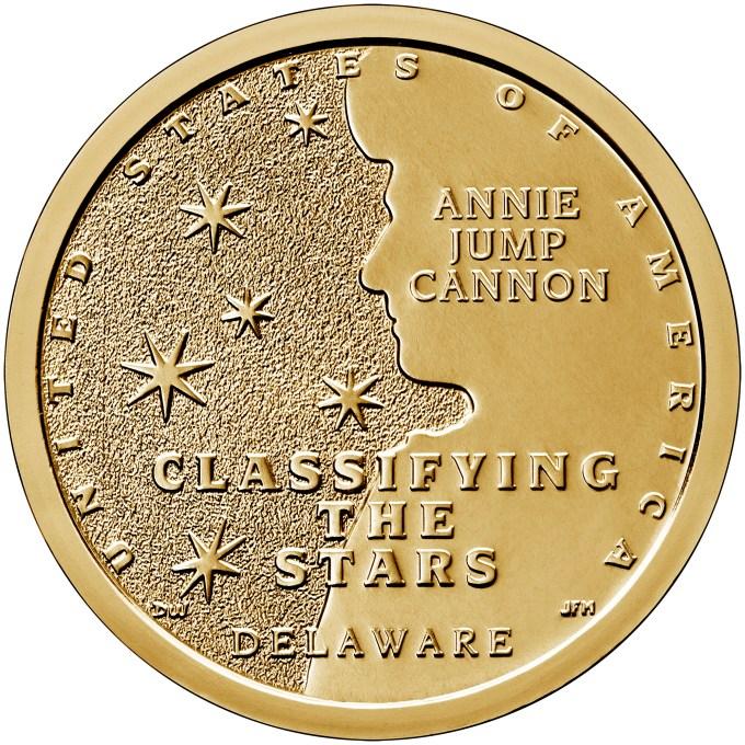 2019 Delaware American Innovation Dollar Reverse