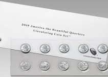 2019 America the Beautiful Quarter Set