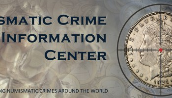 Numismatic Crime Information Center Banner