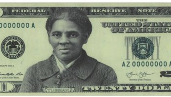 Harriet Tubman $20 Note Proposed Design