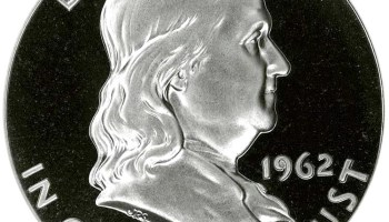 1962 Franklin Half Dollar Obverse (Image Courtesy of NGC)