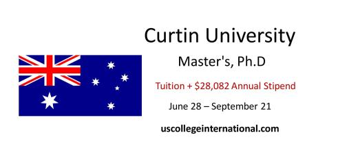 Curtin University Scholarships
