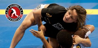 womens no gi rashguard in action