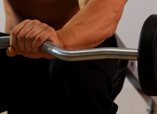 Curl Bar exercise