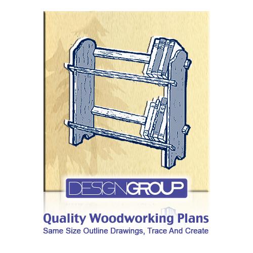 EZ Book Shelves Woodworking Project