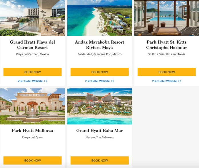 hyatt-25-back-on-award-bookings-2019-q3-2