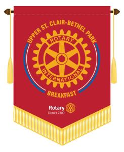 Thank you Rotary Bethel/Upper St. Clair