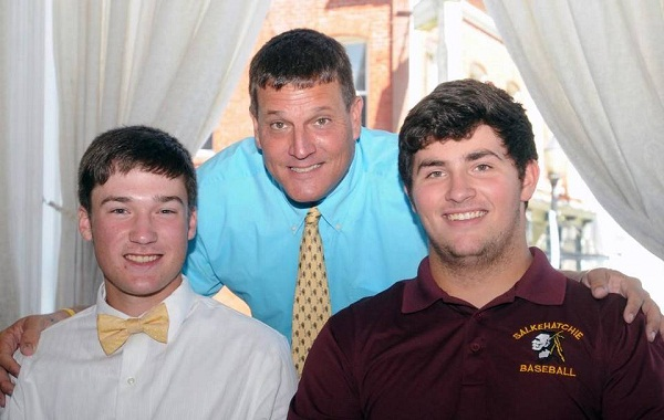 Lewisville's Drew Stewart (left) and Denver Moseley were joined by Lions baseball coach Billy Keels on Wednesday during their college baseball signing ceremony in downtown Chester. Bret McCormick Read more here: http://www.heraldonline.com/sports/high-school/article81213677.html#storylink=cpy