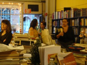 Action shot in Century Books
