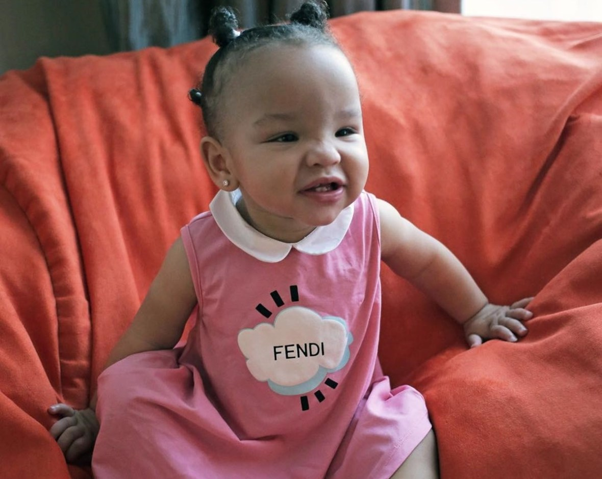 Baby Heiress Tameka 'Tiny' Harris