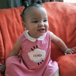 Baby Heiress Tameka 'Tiny' Harris