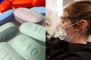 Coronavirus Patients Taken Off Ventilators HIV Drug Testing New York