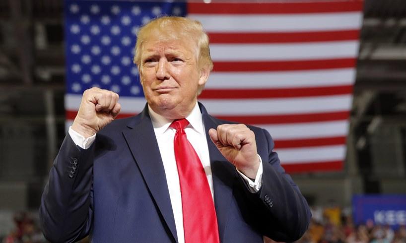 President Donald Trump Joe Biden Florida The Villages