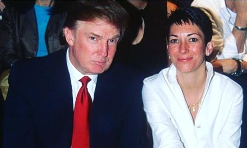 Donald Trump Ghislaine Maxwell Prince Andrew Jeffrey Epstein