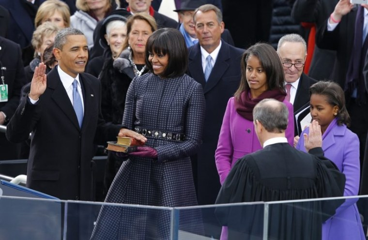 Barack Obama Inauguration Donald Trump Melania Ivanka