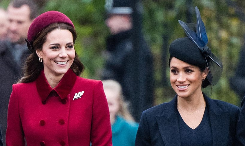 Kate Middleton Meghan Markle Birthday Message