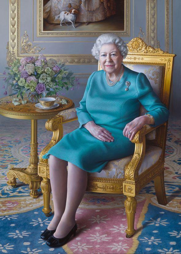 Queen Elizabeth Portrait Miriam Escofet