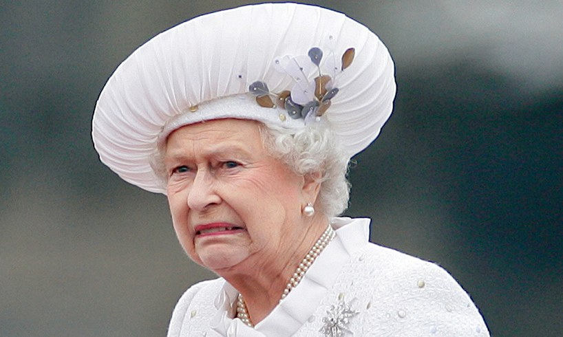 Queen Elizabeth Prince Andrew Protests Buckingham Palace