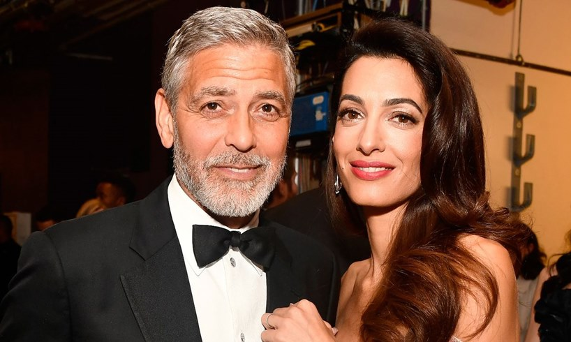 George Clooney Wife Amal Virtual Event Barbara Davis
