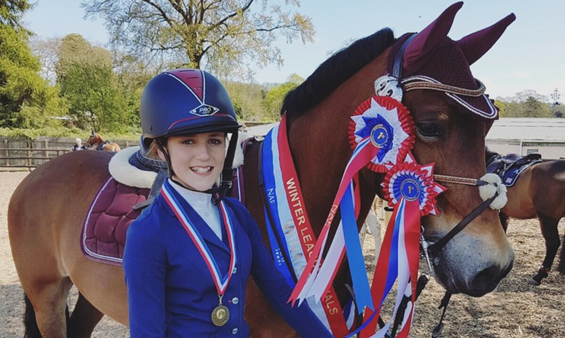 Brodie Morgan Emma Webb Equestrian Horse Rider
