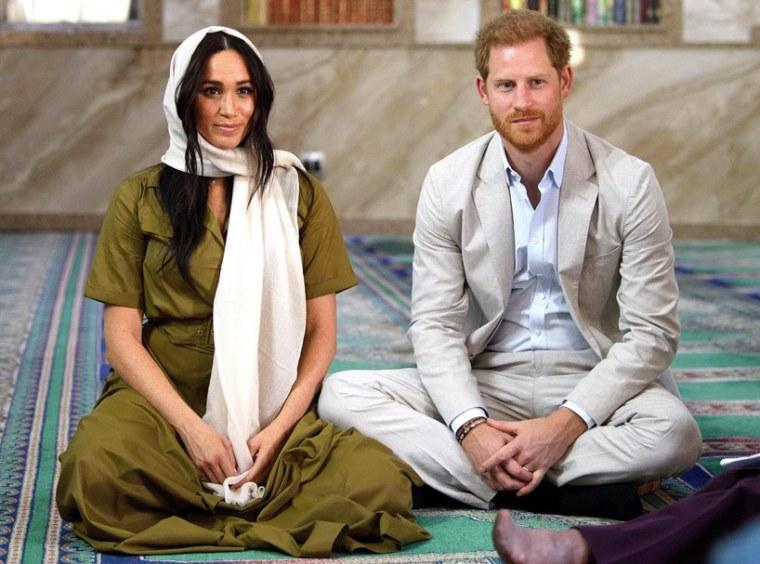 Meghan Markle Prince Harry Africa Trip