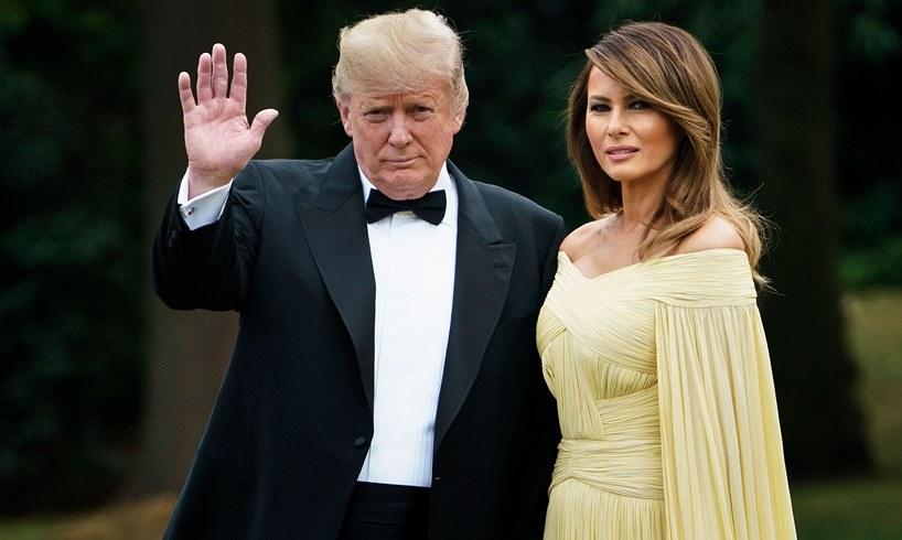 President Donald Trump Melania Vogue Wedding Stephanie Winston Wolkoff Memoir