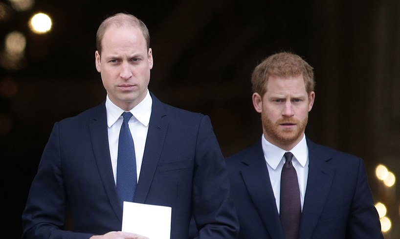 Prince William Harry Meghan Markle Marriage Feud