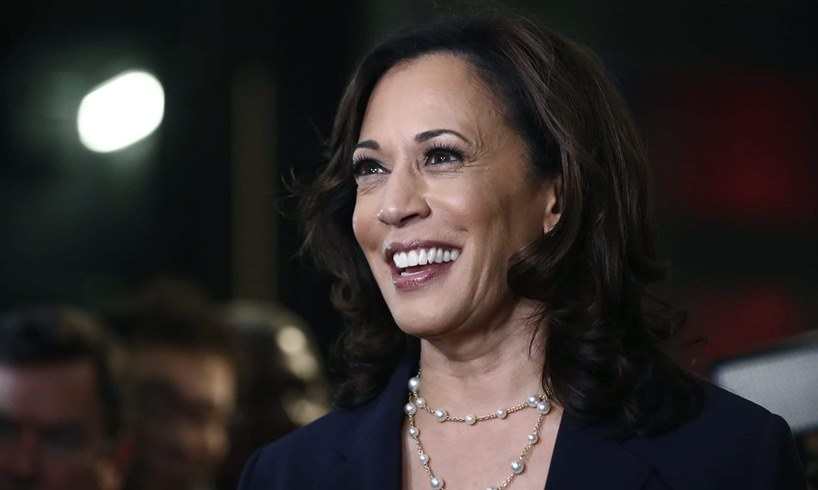 Kamala Harris Montel Williams Dated