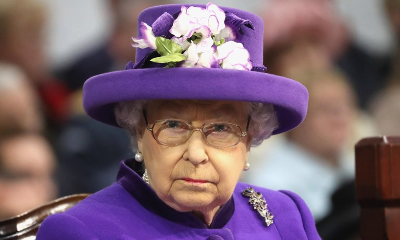 Queen Elizabeth Prince Harry Wreath England