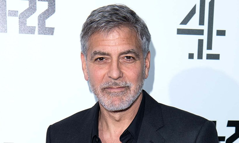 George Clooney The Midnight Sky Movie Beard Weight Loss
