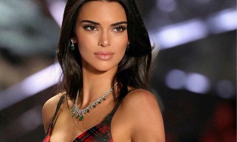 Kendall Jenner Perky Behind New Video