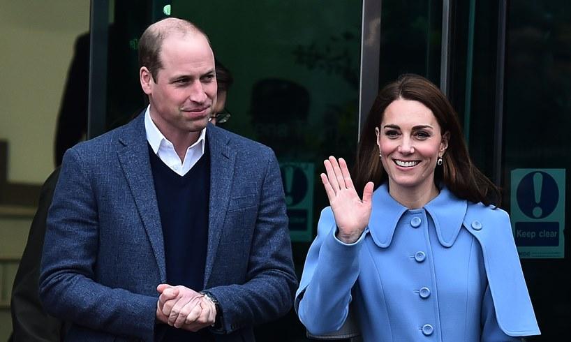 Prince William Kate Middleton Train Trip