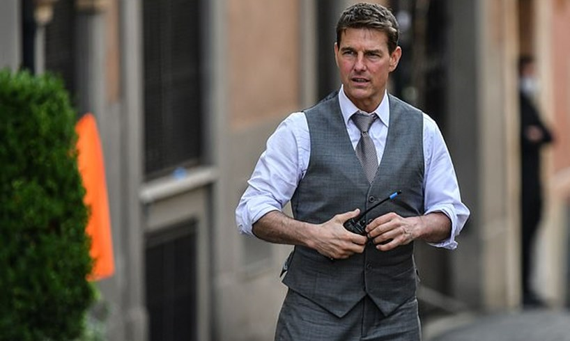 Tom Cruise COVID Rant Yelling Crew Mission Impossible George Clooney