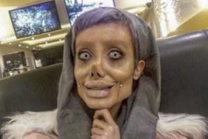 Zombie Angelina Jolie Fatemah Khishvand AKA Sahar Tabar Sentenced