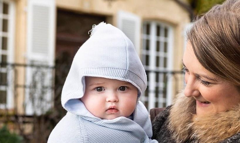 Prince Charles Princess Stéphanie Guillaume Child Photo