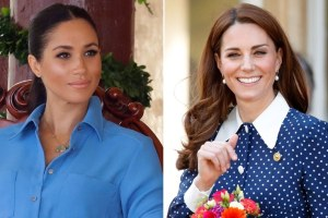 Meghan Markle Kate Middleton Queen Elizabeth Speech Prince Harry Oprah Winfrey Interview Same Time