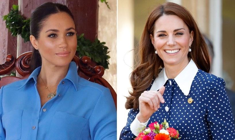 Meghan Markle Kate Middleton Queen Elizabeth Speech Prince Harry Oprah Winfrey Interview Same Time
