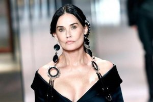 Demi Moore Fendi Fashion Week Plastic Surgery