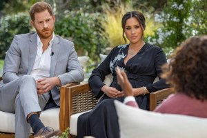 Prince Harry Meghan Markle Oprah Winfrey Interview